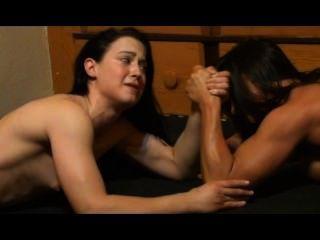 Frauenwrestling Mädchen