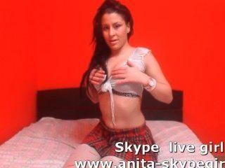 anita skype Webcam Mädchen