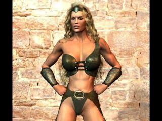 3d Mixed Wrestling amazon Schlachten Männer und Kreaturen