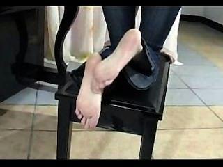chinesisch Fuß Rubing und posiert