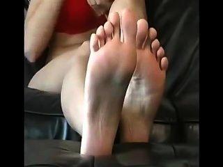 wunderschöne Mädchen Füße joi