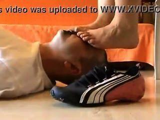 Fuß sniff