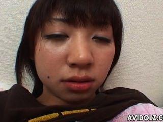 geil japanische Teen Fingern ihre leckeren nass Snatch