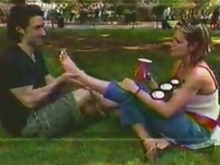 Blind Date Fuß lecken