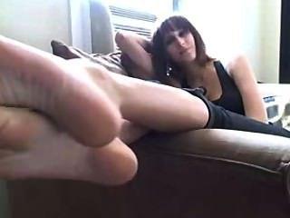 lecken meine stinkende Füße