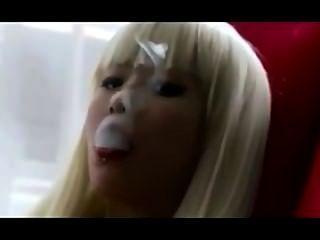 asiatisch exhales_smoking Fetisch.
