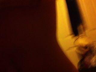 ein Mädchen, das ich verwendet, meinen harten Schwanz zu ficken reiten)
