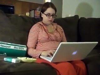 16 Wochen schwanger newport Frau Rauchen.
