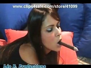Zigarre Mädchen Brasilien 2