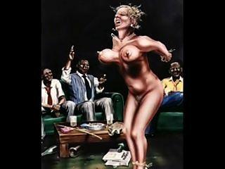 eine erotische klassische Kunstwerke durch b
