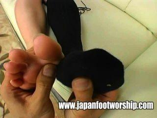 Fußfetisch japan fußanbetung