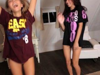 sexy teen Modelle machen aus & Tanzen
