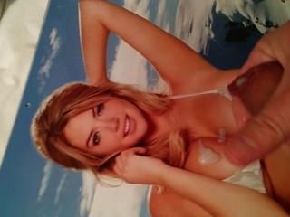 cum Hommage an Kate Upton 2014 Kalender Bikini pic