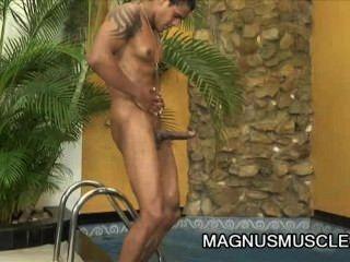 william carioaca: muskulös Latino und seinen großen Schwanz