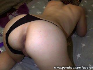 anal liebäugelt endet in Creampie