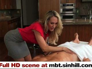 Big Tit blonde Mutter lehrt ihre Teen Tochter bang - mbt.sinhill.com