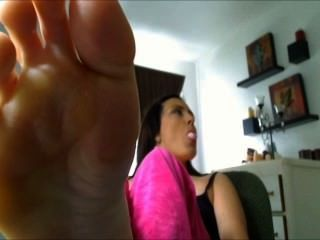 Fuß necken