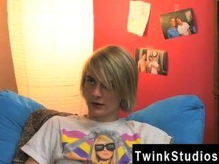 Homosexuell Jocks Aidan und preston baumeln im Schlafzimmer nach der Schule aus