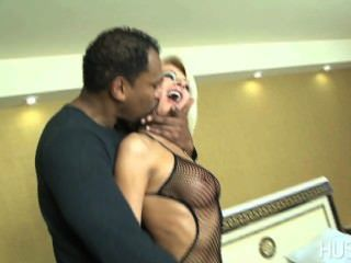 Euro milf creampied in cuckold session