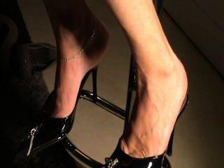 reifen Sohlen in den Schuhen sexy