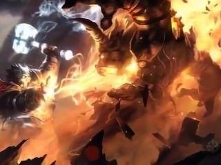 Orc wird von Zwerg gefickt