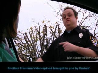 verzögert Polizist - Panty Inspektor