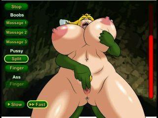 Prinzessin Hündin Hentai Sex-Spiel (nintendo)