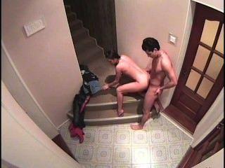 erstaunliche fucking auf Treppen