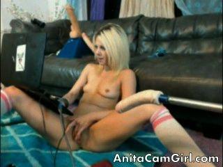 erstaunlich hot Teen auf Webcam