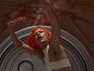 Milla Jovovich in dem fünften Element