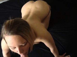 anal sex - pov - in ihr Arschloch Cumming