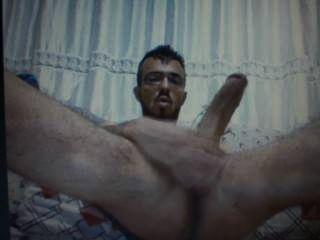 Türkisch Kerl riesigen massiven Schwanz Rucken