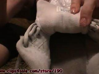 fiesen verschwitzten Socken