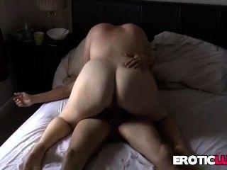 bbw mit großen Titten wird hart gefickt