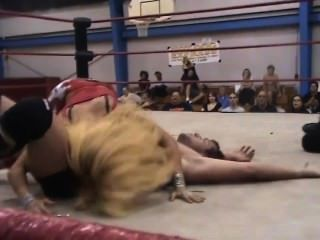 Gemischter Wrestling-Sex-Kampf