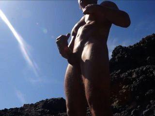 cam: Ruckeln und Cumming auf den Felsen
