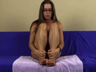 joi Lelu liebe lecken Füße Fußfetisch spucken