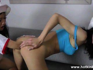 hot kinkyjo & sasha anal Fisting Sterne