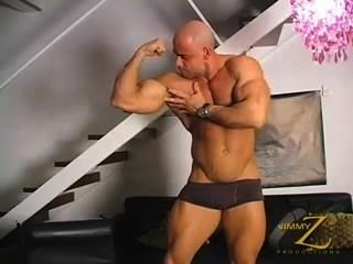 big dicked Bodybuilder jo