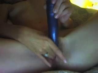 Amateur Milf masturbiert auf Webcam