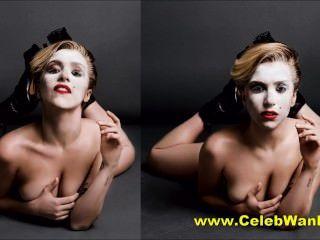 Lady GaGa nackt Kostümwechsel und mehr