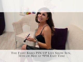 flirt Babes Live-Show pin up