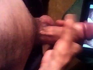 mein heißes Sperma auf diesem sexy frechen schmutzig wilden kurvige Arsch