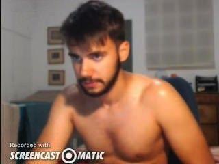 sexy Kerl Cums auf cam