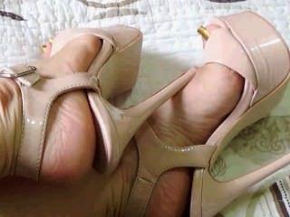 sexy latina hot lange Fußnägel 2