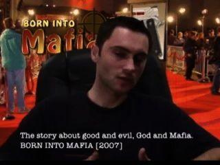 geboren in Mafia Direktor vitaliy Versaces Interview roten Teppich Hollywood