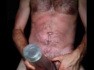 Cumming von meinem Fleshlight