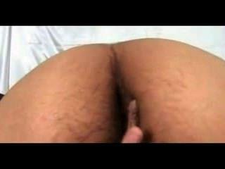 haarige indisches Mädchen Rani nackt im Schlafzimmer ihre Muschi Skandal fingern