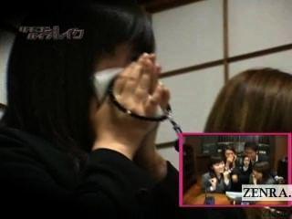 untertitelte verrückt japanische Beerdigung Fern Vibrator Streich