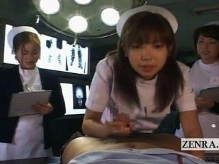untertitelte pov japanische Krankenschwestern Krankenhaus Oralsex Seminar